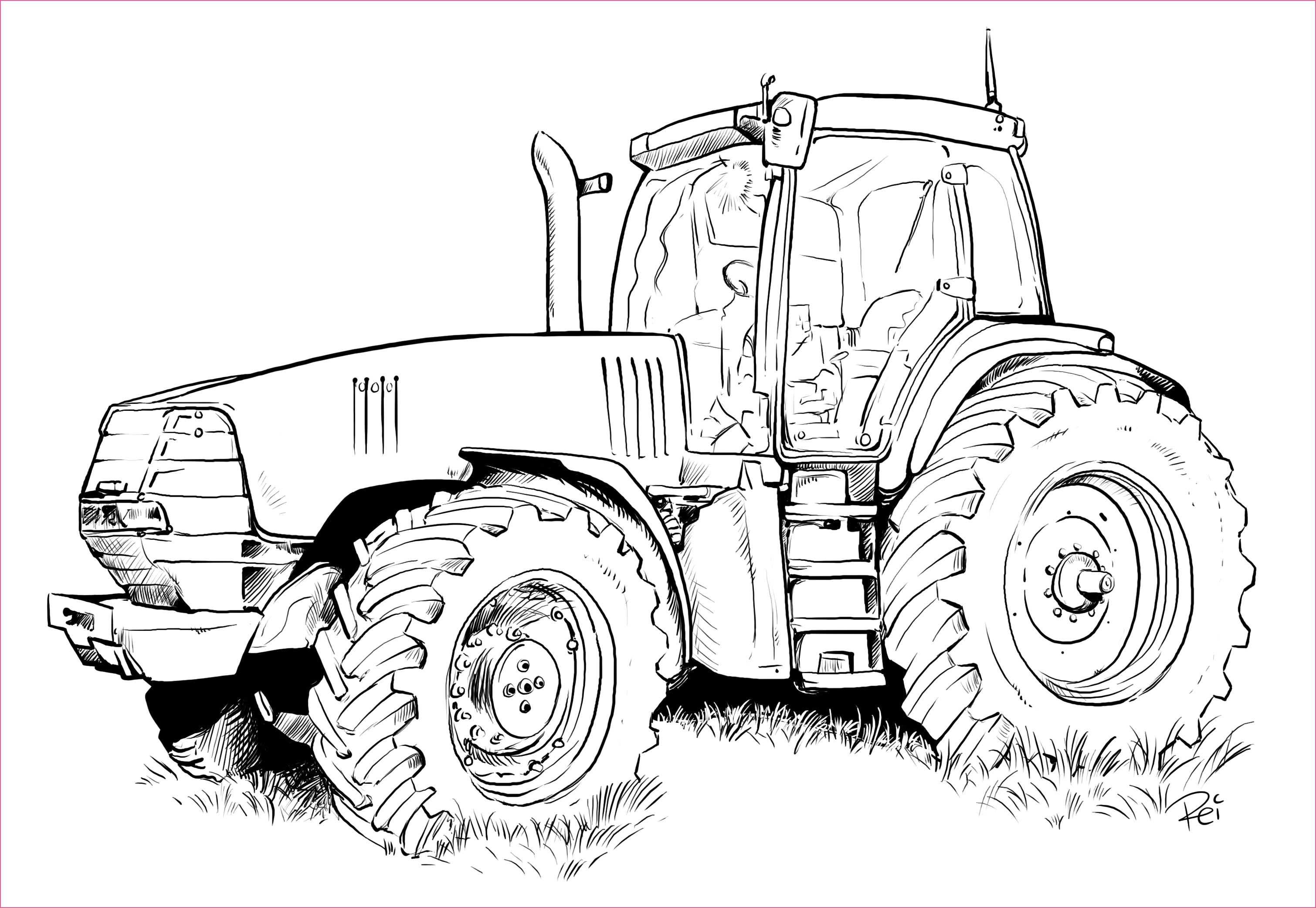 Verkehrserziehung Kindergarten Ausmalbilder Tractor Coloring Pages Coloring Pages Inspirational Tractor Drawing