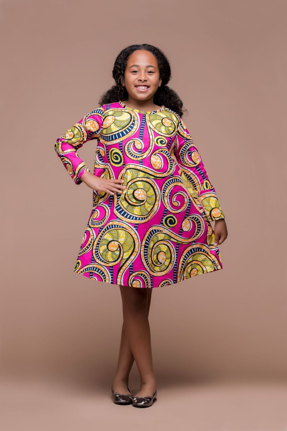 5f56ce2d104a Lomo Dress | African Clothing For Children | Grass-fields | Zoe's ...