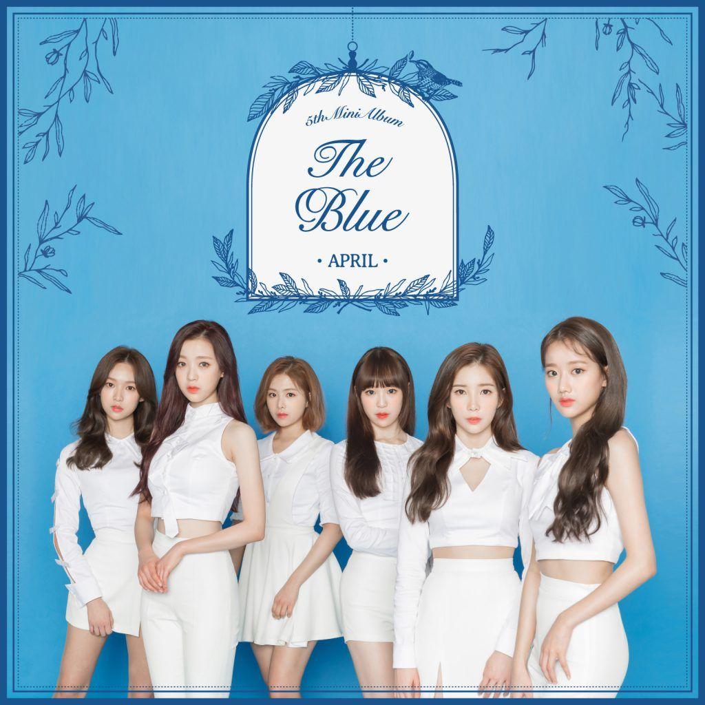 APRIL - 'The Blue' Album Cover   ~~ Kpop Albums ~~ in 2019