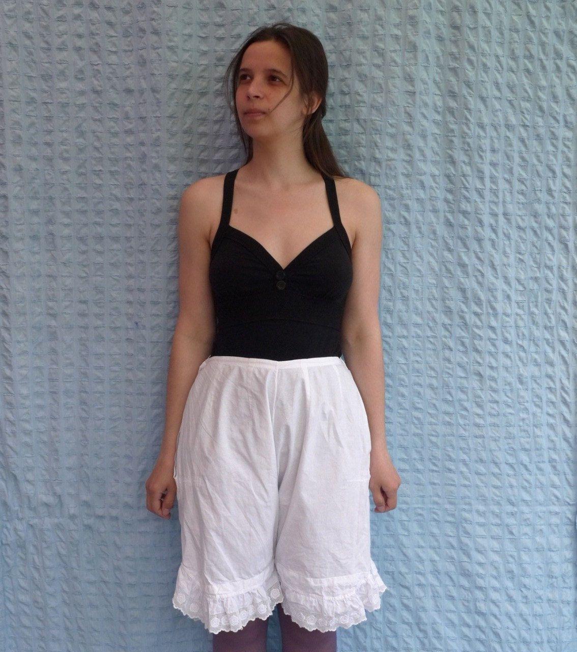 9eac25e2d45d vintage pantaloons • lingerie • underwear • pantaloons • Edwardian •  antique pantaloons • Victorian bloomers