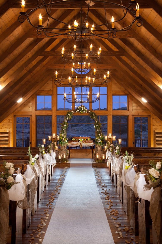 Bush Creek Ranch, Saratoga, WY, Ceremony Romantic