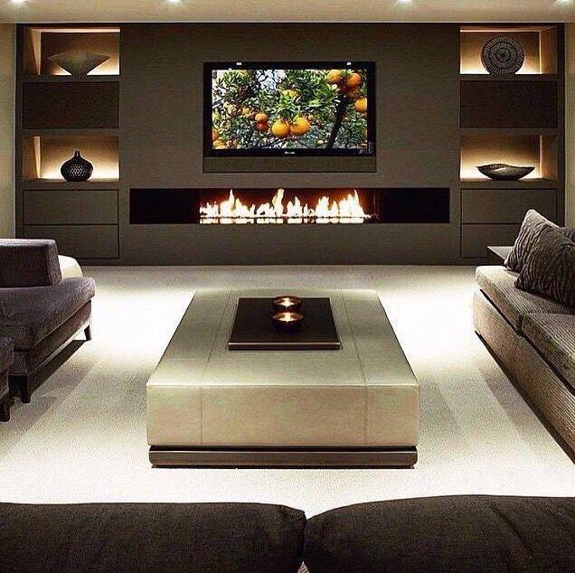 Elegant Home theater Wall Design