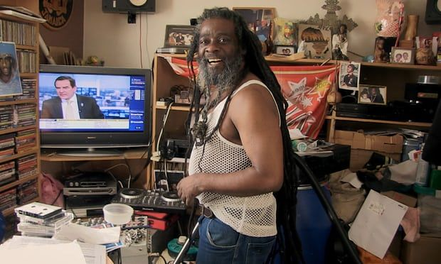 Blacker Dread at home.  Loved this film.  Watched it March 2018 on BBC.  About so much more than Blacker Dread but what an amazing, kind and decent man he is.