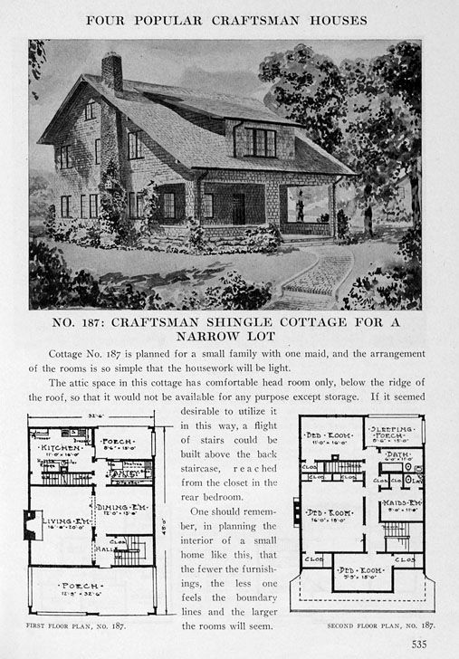 Find Old House Plans Here Historic Bungalows More Southern House Plans Craftsman House Plans Vintage House Plans