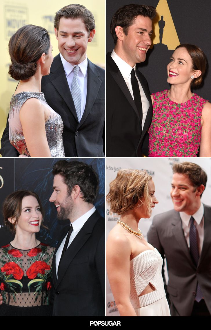 John Krasinski and Emily Blunt's cutest pictures are just TOO sweet.