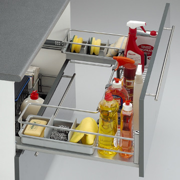 Complementos muebles limpieza cocina cesto frontal bajo for Complementos cocina