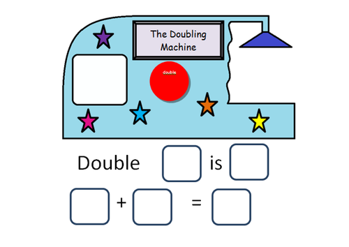 Doubling Machine Resources Primary Maths Simple Prints Teaching