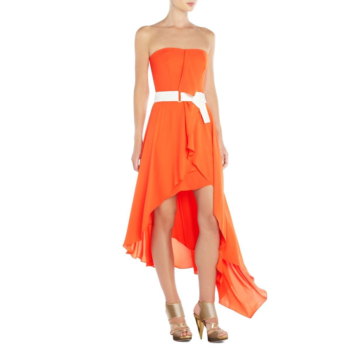 cute orange dress...love it!
