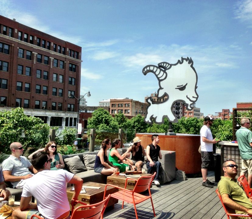 Little Goat Fulton Market Chicago Il Rooftop Bars Chicago Chicago Things To Do United States Travel Bucket Lists