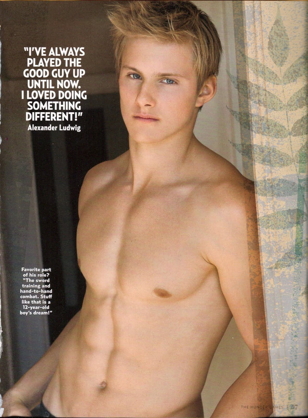 Alexander Ludwig for Abercrombie & Fitch - Fashionably Male