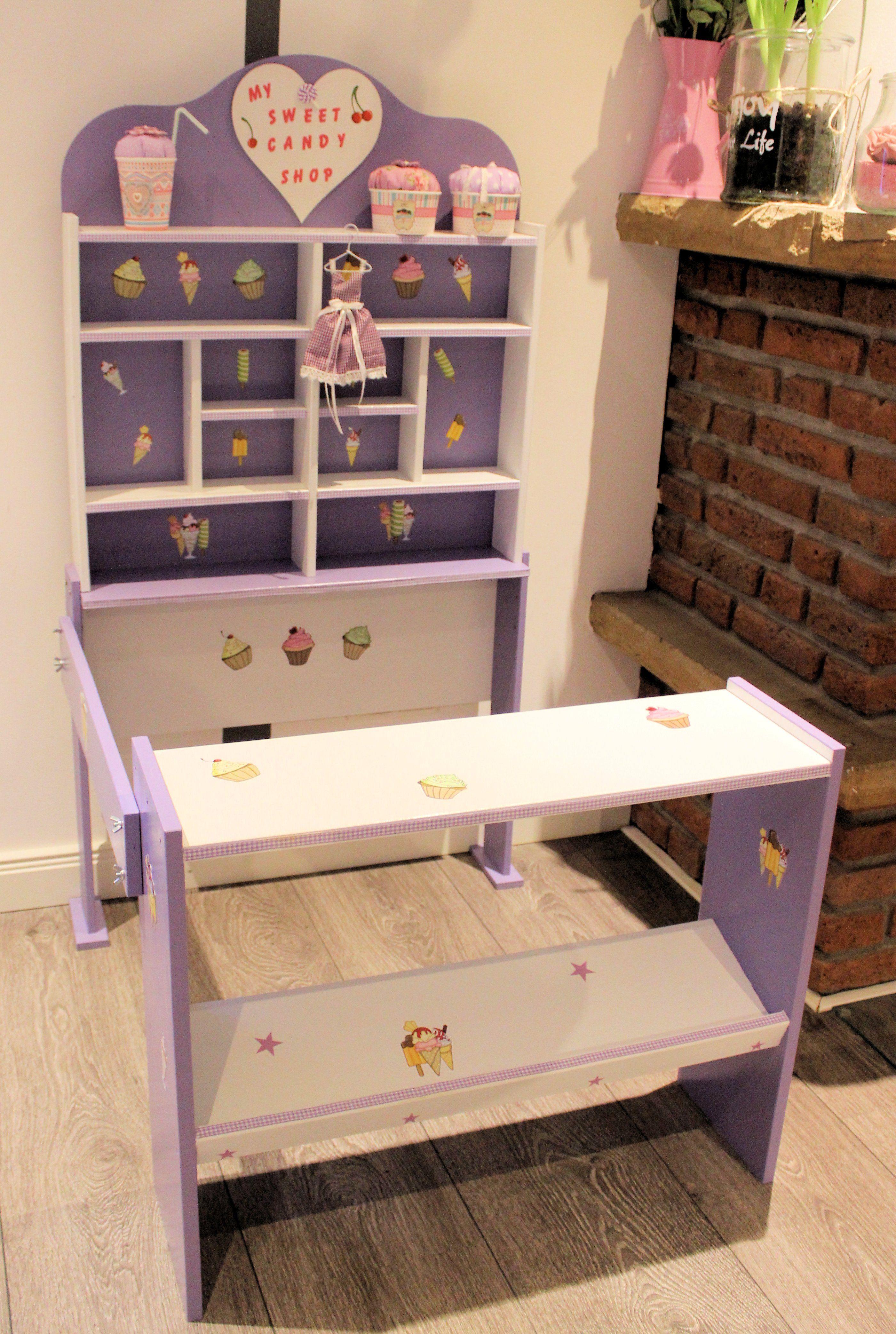 kaufladen lila weiß candy shop shabby | domis pusteblume | pinterest