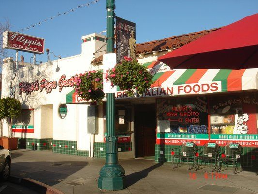 Best Pizza Ever Filippi S Pizza Little Italy San Diego