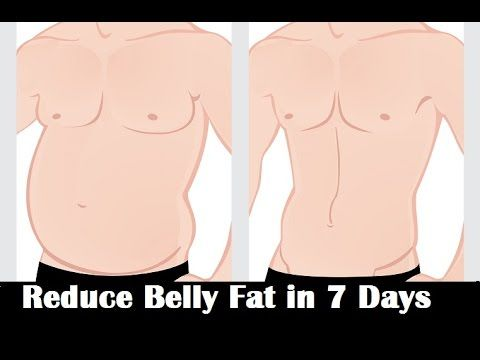 How To Reduce Belly Fat in 7 Days Naturally (In JUST 20 Seconds)