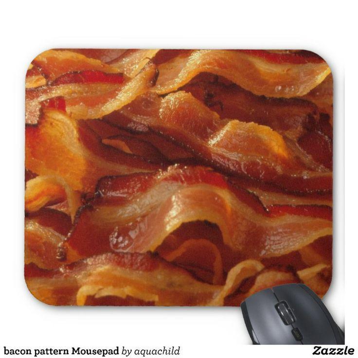 bacon pattern Mousepad |  bacon pattern Mousepad |  -  -