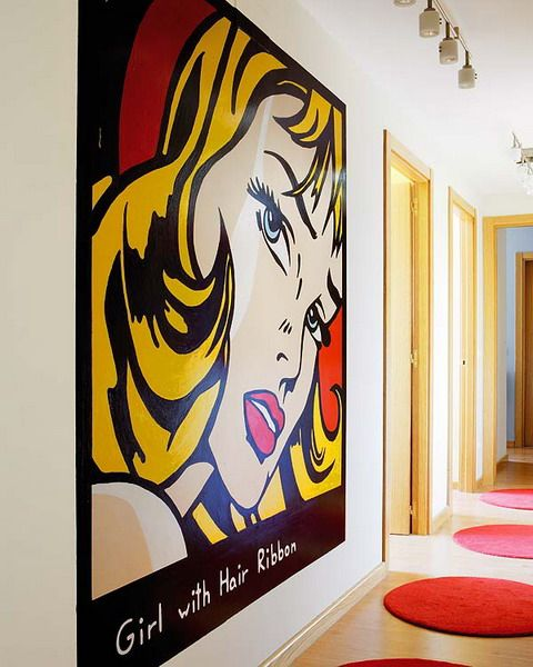 10 Ideas To Decorate Walls With Pop Art Details Shelterness Pop Art Decor Art Decor Pop Art Party