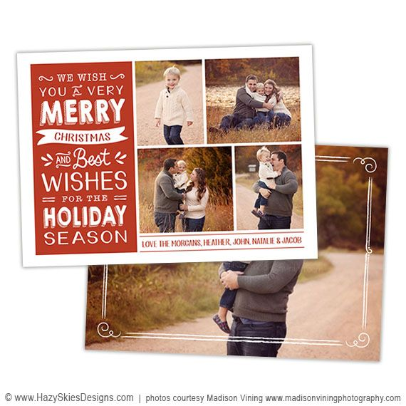 Christmas Card Template For Photoshop Photography Card Templates Holiday Chris Christmas Card Template Christmas Photo Card Template Holiday Card Template