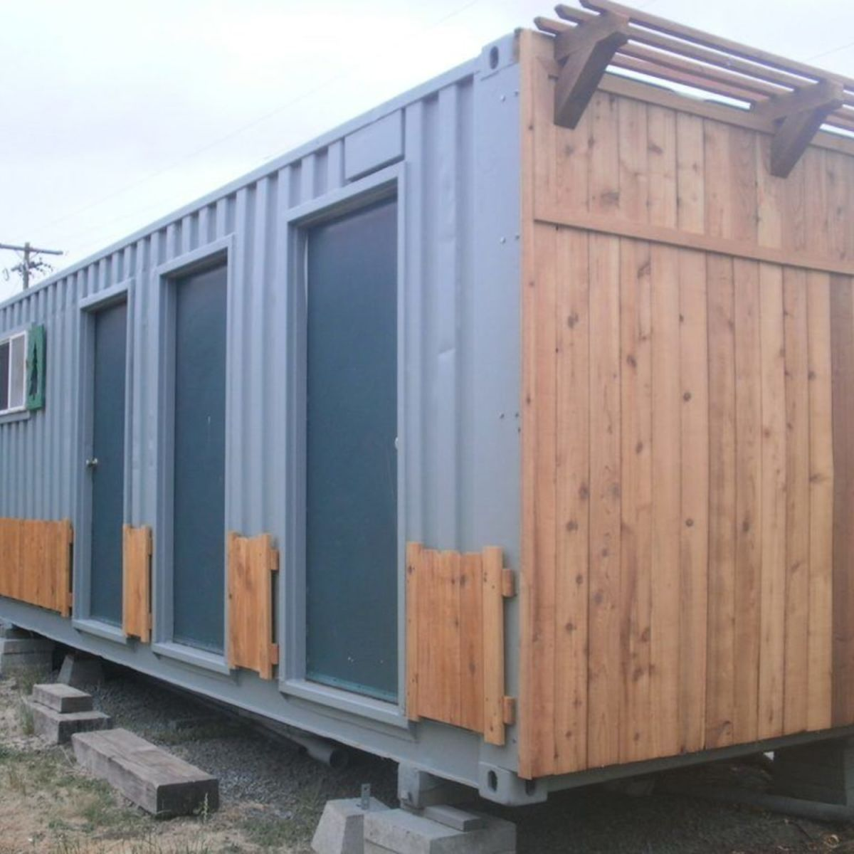 Container cabin tiny house for sale in springfield