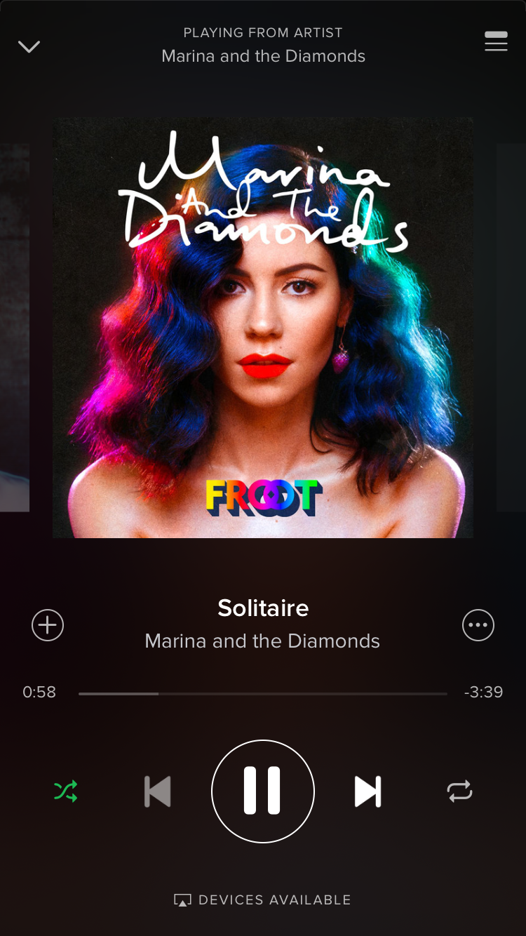 Solitaire- Marina and the diamonds | My music | Music