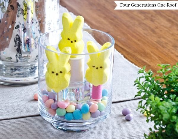 easter decorating ideas using candy