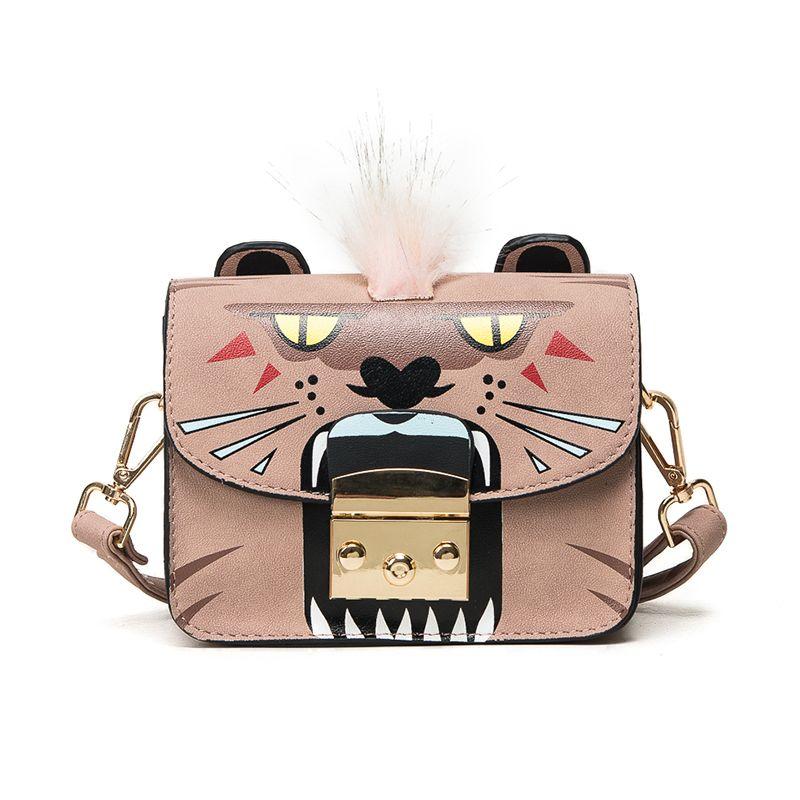 Bolsa Divertida Fashion Designer moda Felinos Bolsa Estampa Animal