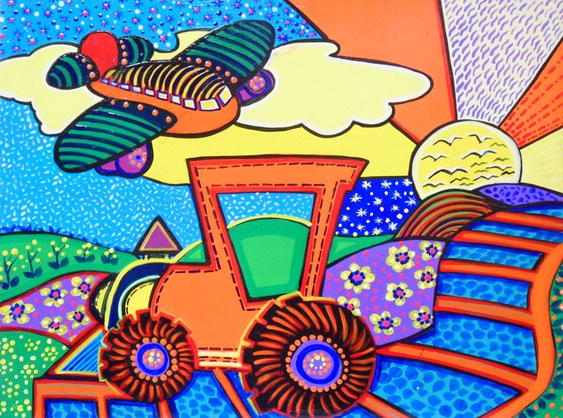Cuadros Modernos Pinturas : Pinturas Decorativas Para Niños ...
