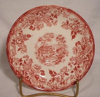 ALFRED MEAKIN china TONQUIN pink Saucer   eBay & ALFRED MEAKIN china TONQUIN pink Saucer   eBay   TRANSFERWARE ...
