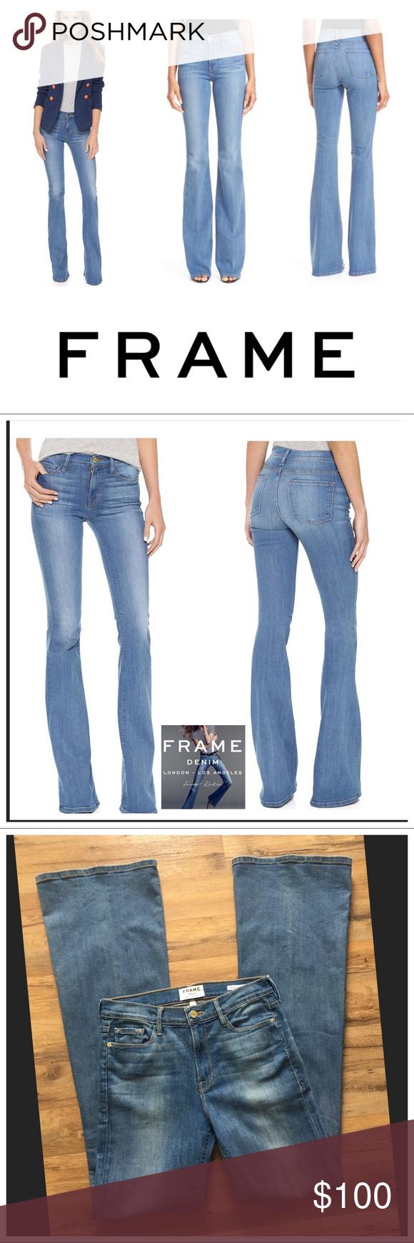 FRAME Karlie Kloss Forever Karlie Tall Flare Jeans | Pinterest ...
