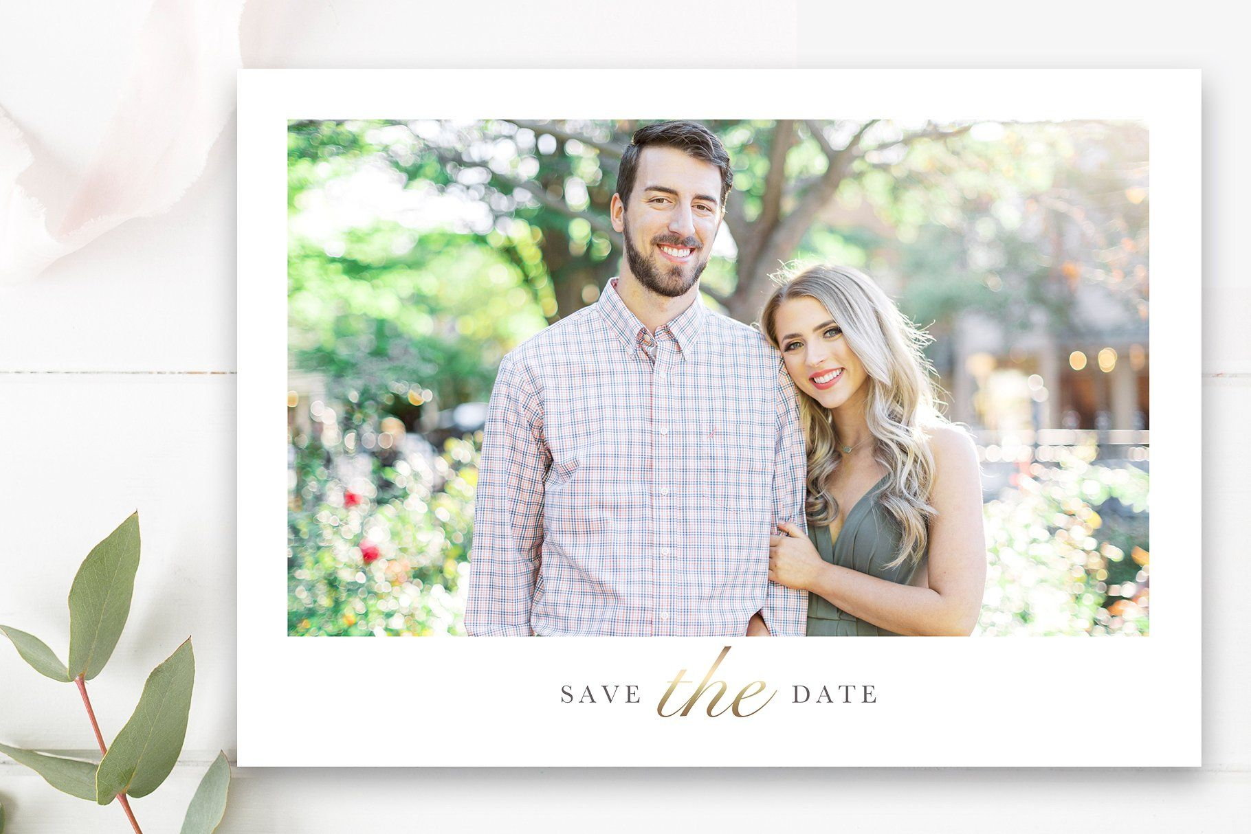 Calendar Save The Date Postcard Template 5x7 4x6 Templates Included By Stephanie Design Save The Date Templates Photoshop Template Design Photo Card Template