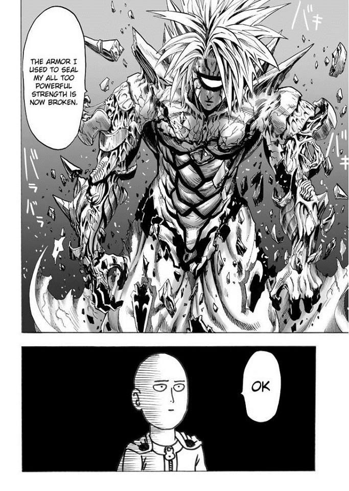 Saitama's ok | One punch man manga, One punch man, Saitama ...