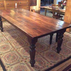 Custom Farmhouse Table Nj