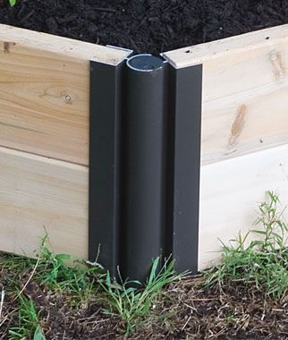 Pro Series Aluminum Corners Pivoting Corners To Customize Your Raised Bed.  Expand Your Garden To