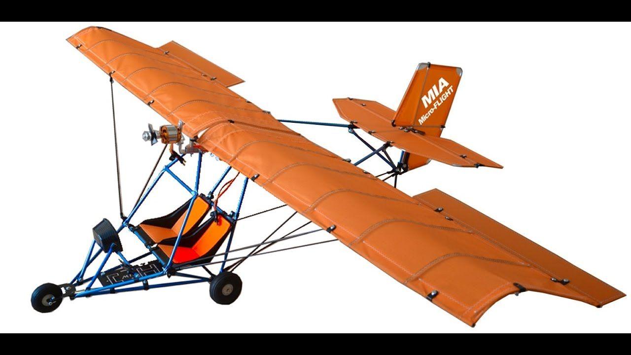 RC Ultralight MIA Quicksilver Style Dual Seat Orange Wing
