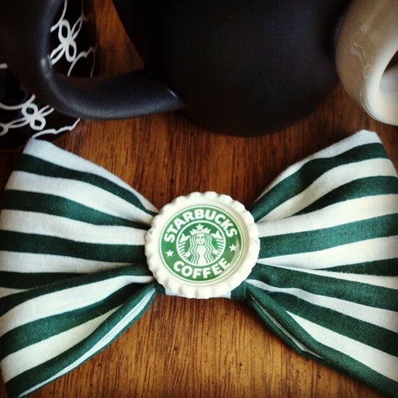 starbucks+inspired+bow+by+emysboutique+on+Etsy,+$5.00
