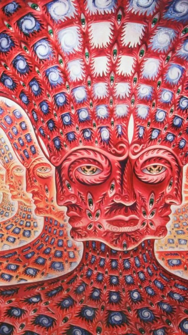 Special Abstract Music Psychedelic Bands Alex Grey
