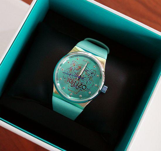 Kenzo Oryg Luxusowy Zegarek Pasek Skora Tygrys 6887520137 Oficjalne Archiwum Allegro Accessories Wrap Watch Watches