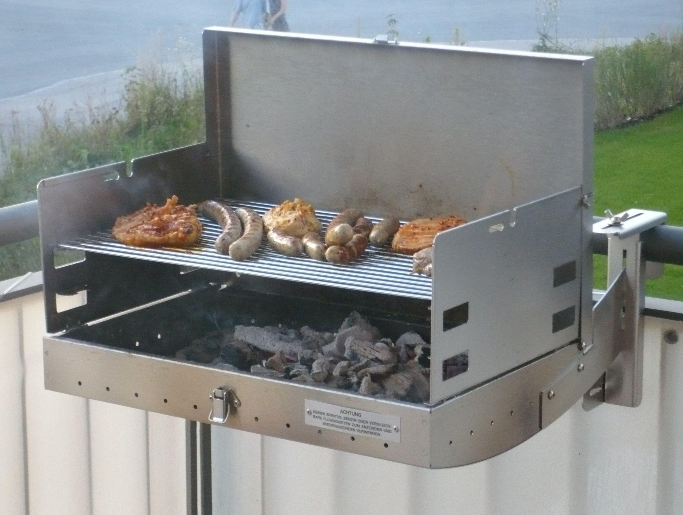 Bester Holzkohlegrill Für Balkon : Balkongrill eine spezielle grillart zum grillen auf dem balkon