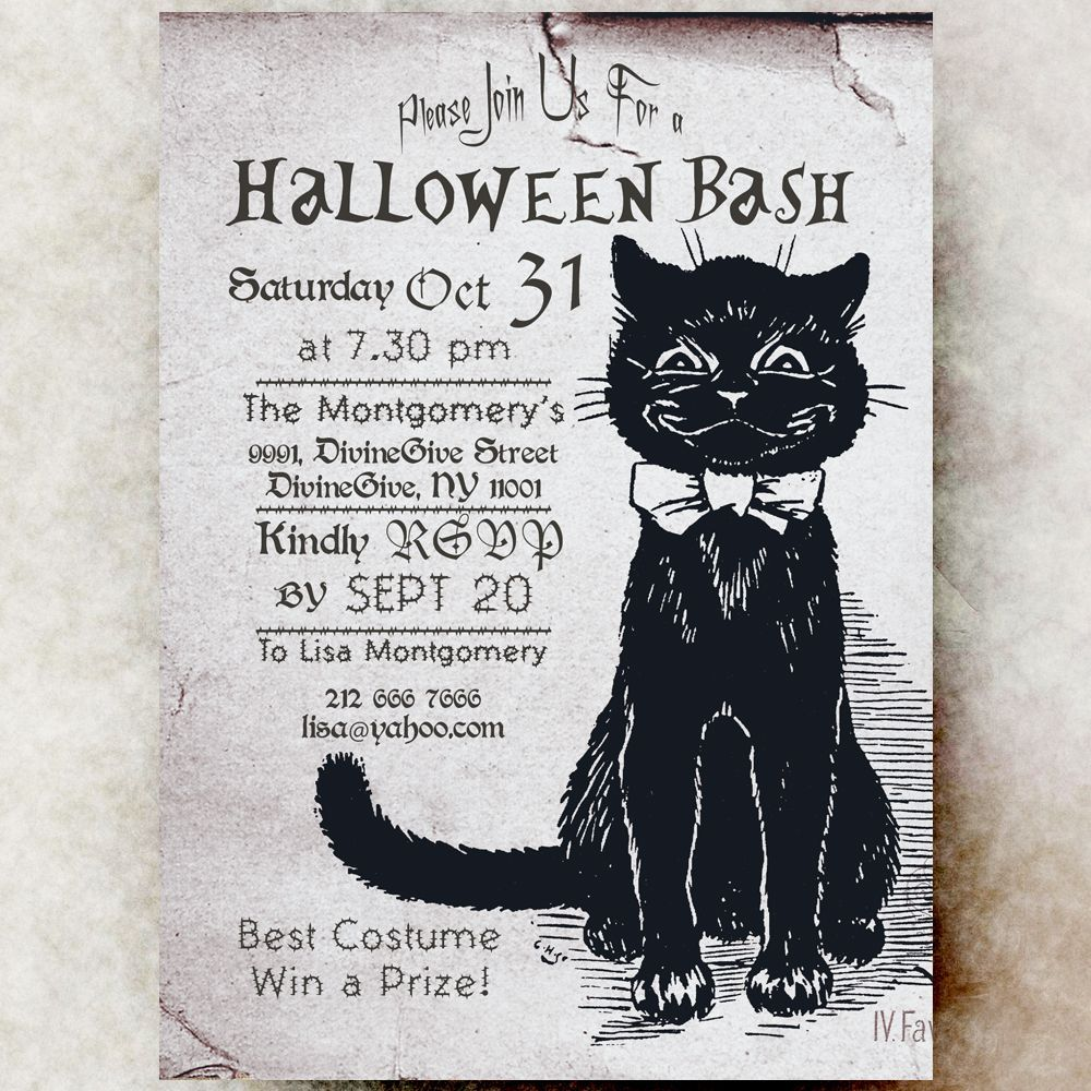 This would be a Perfect Halloween wedding invitation! <3 | 1920s ...