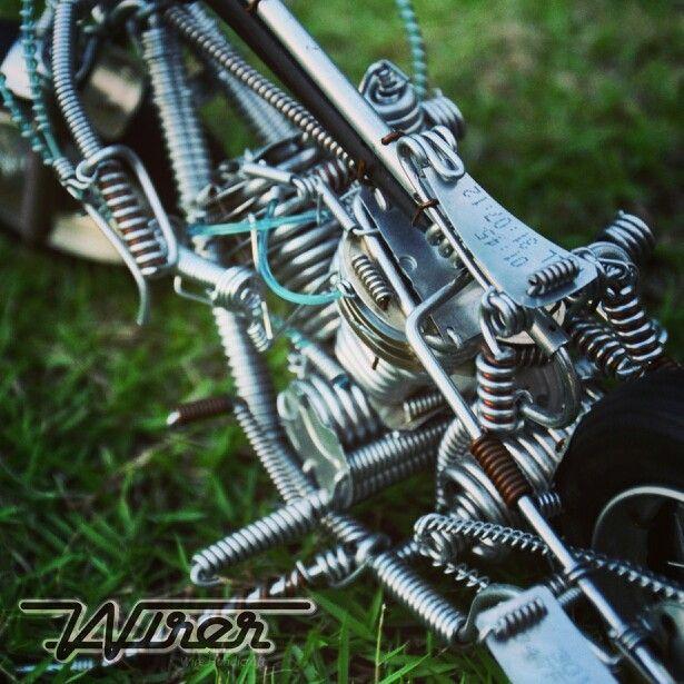 Art of Wirer Handicraft #harleydavidson #wire #thailand #Wirecraft ...