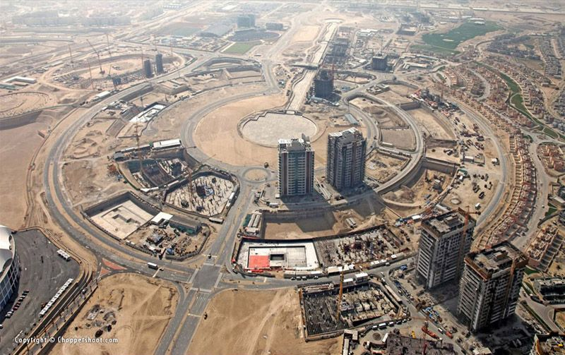 Dubai Sports City (April 2009)