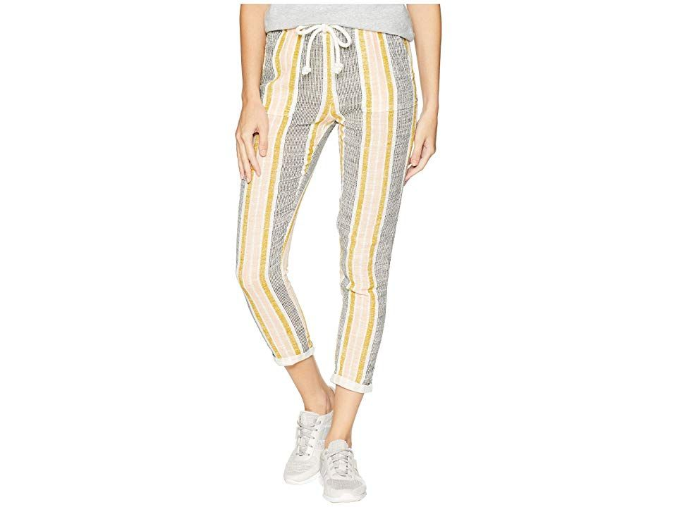 Rip Curl Into The Sun Pants Vanilla Womens Casual Pants Too many hours spent behind closed doors arent conducive to a happy life Get out and soak up the warmth of the day...