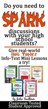 hot topics for middle school students