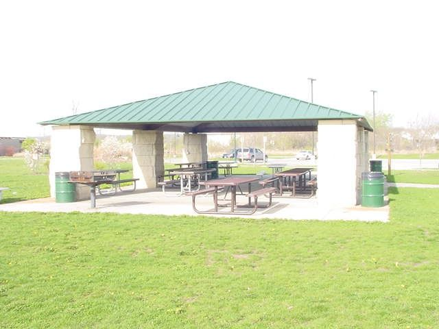 Biddle Rotary Shelter Raccoon River Park Biddle Rotary Shelter The Biddle Rotary Shelter Is Located Near The N Charcoal Bbq Grill Picnic Table River Park