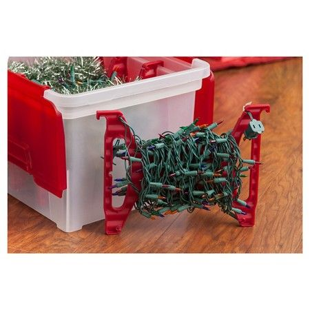 Iris Christmas Light Storage Box With 4 Light Wraps Target Christmas Light Storage Christmas Light Installation Christmas Lights