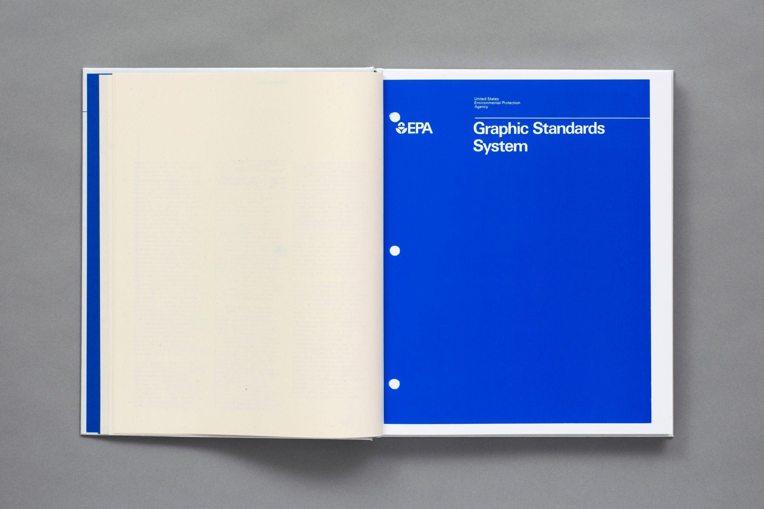 EPA Graphic Standards System layout Pinterest