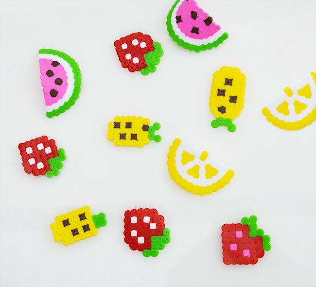Fruchteparty Tutti Fruity Fruchtparty Ideen Basteln Bugelperlen Bugelperlen Hama Bugelperlen