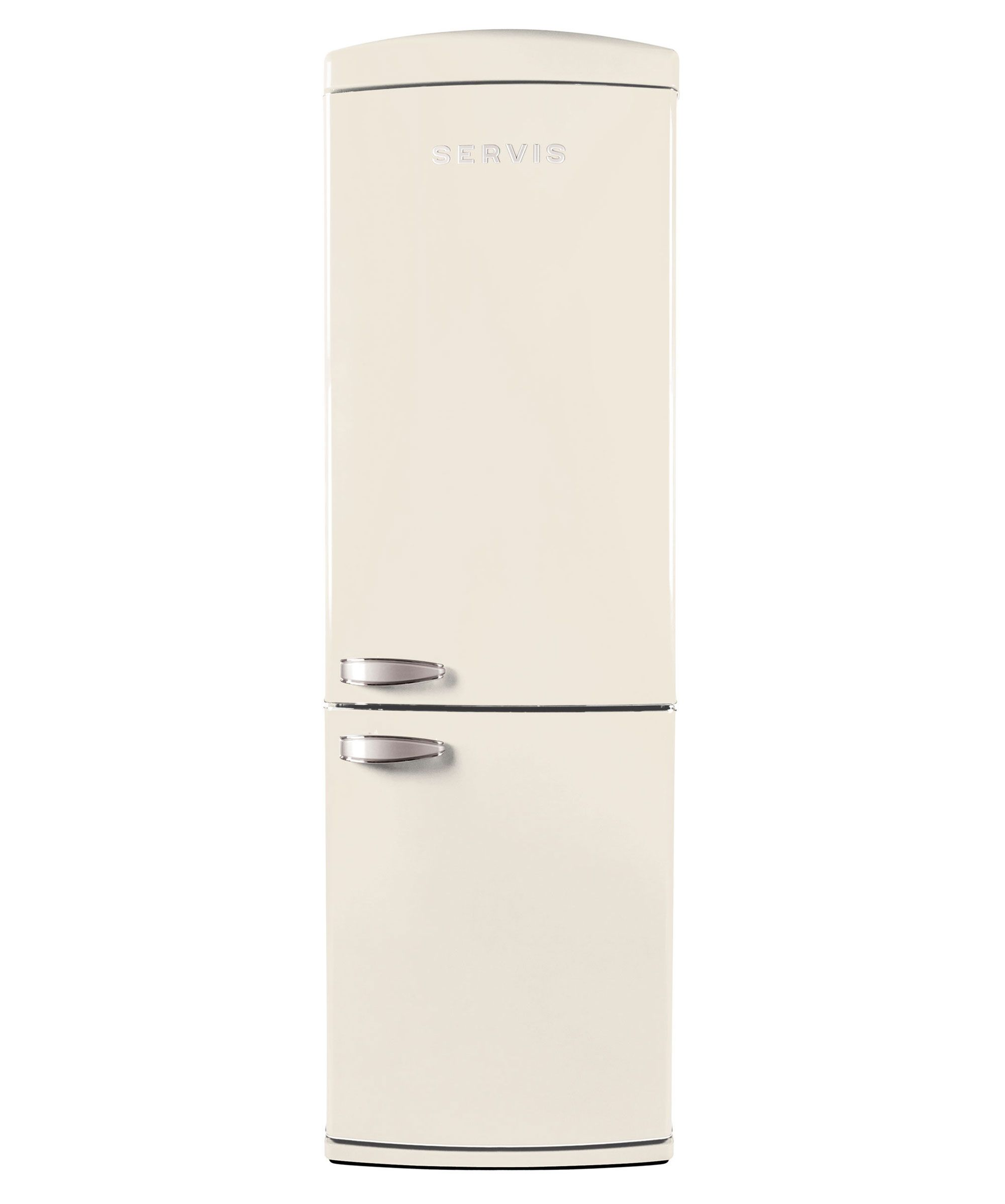 Servis C NFC Classic Cream Retro Fridge Freezer