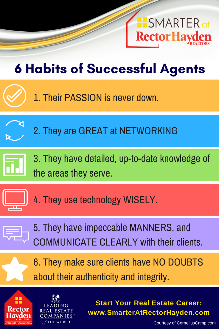 6 Habits of Successful Real Estate Agents