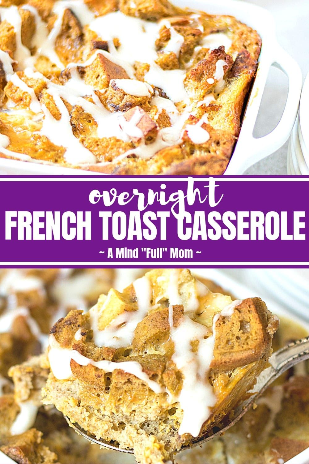 A simple french toast bake made with healthier swaps see