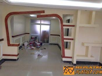 Arc et Couloir de Maison en Plâtre | Ceiling | Pinterest | Ceiling ...