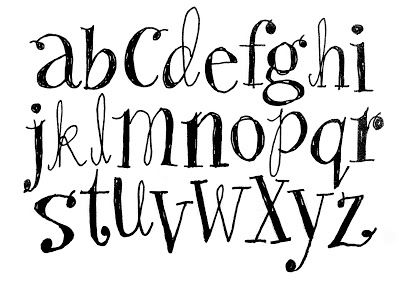 Sketchy Doodley Alphabet